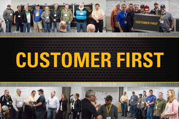 Customer First Core Value