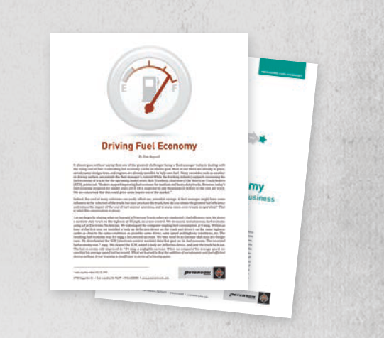 Fuel Saving White Papers