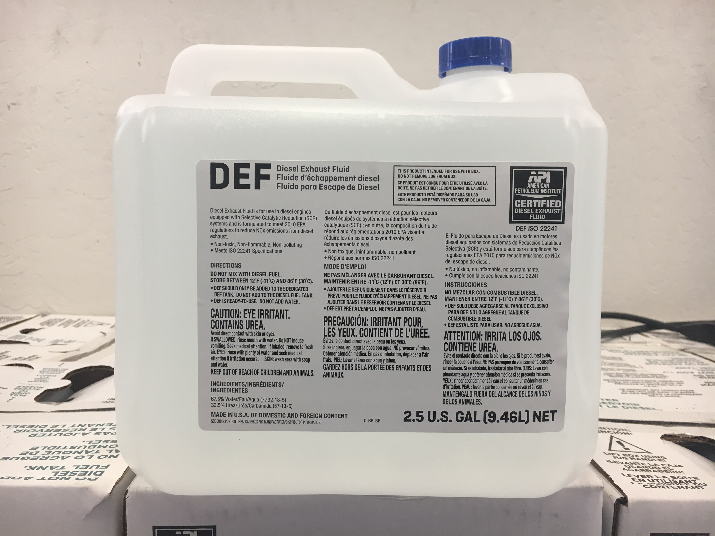 Diesel Exhaust Fluid >> DEF | Peterson Trucks