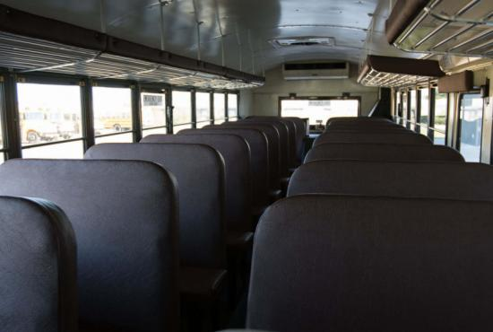 ic bus re school bus interior